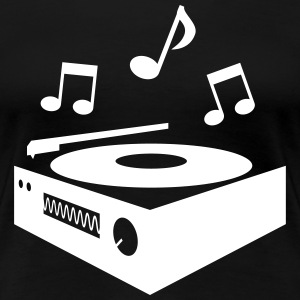 record player platine tourne-disque Tee shirts - T-shirt Premium Femme