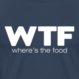 WTF (dark) T-Shirts - Men's Premium T-Shirt