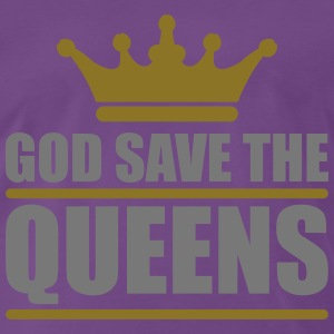 God save the Queens (2 colors) Tee shirts - T-shirt Premium Homme