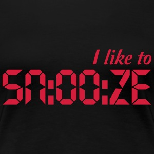 I Like To Snooze T-Shirts - Women's Premium T-Shirt