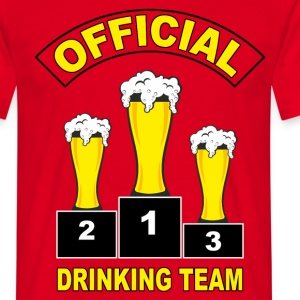 Drinking team - T-shirt Homme