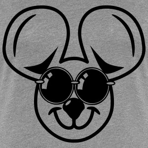 fun friendly mouse sunglasses T-Shirts - Women's Premium T-Shirt