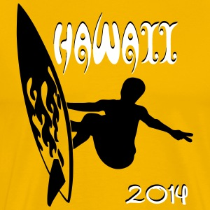 Surf Camp Hawaii 2014 T-Shirts - Männer Premium T-Shirt