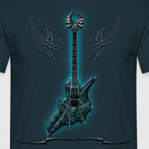 Blue Vampir Guitar - T-shirt Homme