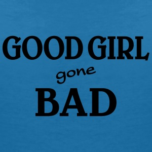 Good Girl gone bad T-shirts - Dame-T-shirt med V-udskæring