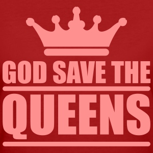God save the queens (1 color) T-Shirts - Frauen Bio-T-Shirt