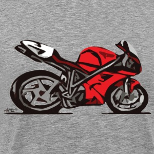Superbike comic-style T-Shirts - Men's Premium T-Shirt