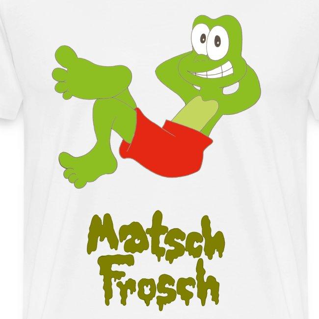 Matschfrosch macht Pause