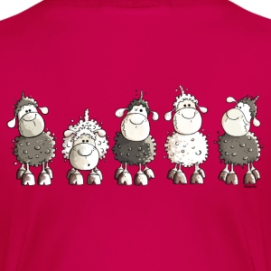 Funny Sheep - Moutons - Mouton Tee shirts - T-shirt Premium Femme