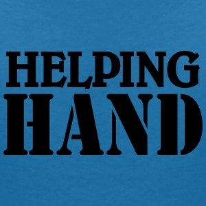 Helping hand T-Shirts - Women's V-Neck T-Shirt