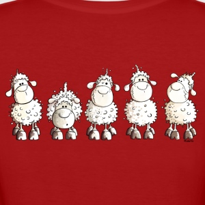 Funny White Sheep T-Shirts - Frauen Bio-T-Shirt