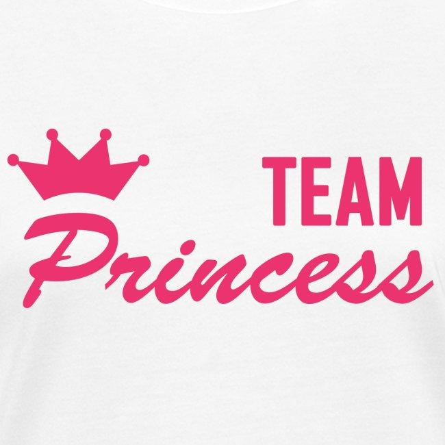 Women's Organic Team Princess Pink T