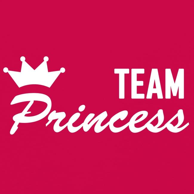 Kids' Team Princess White Premium Longsleeve