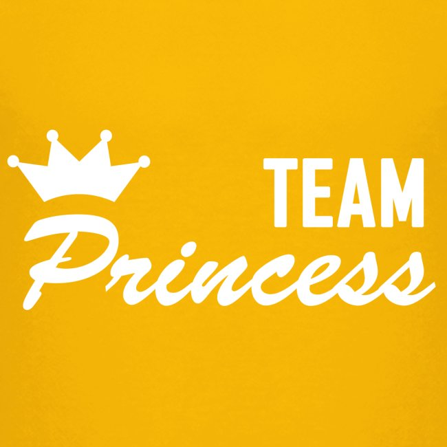 Teenager Premium Team Princess White T