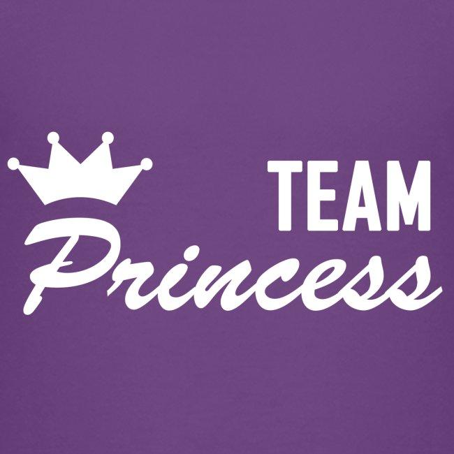 Teenager Premium Team Princess White T