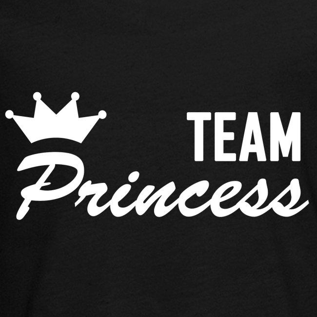 Teenager Team Princess White Longsleeve