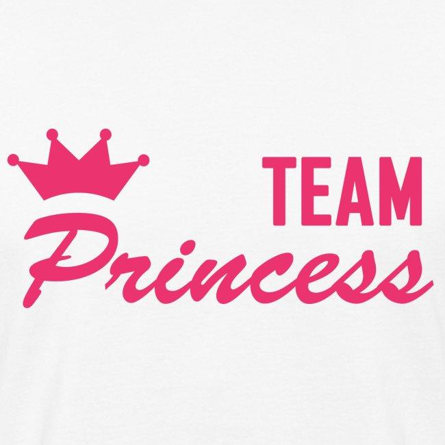 Men's Organic Team Princess Pink T Shirt