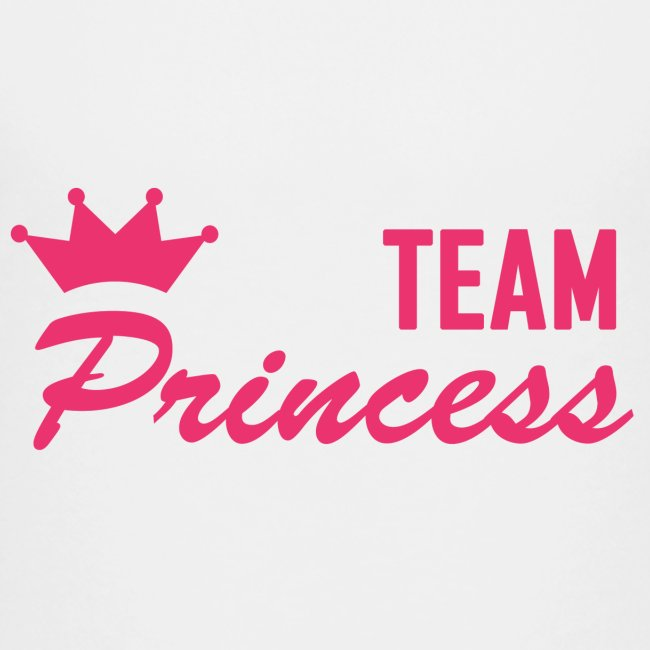 Teenage Premium Team Princess Pink T Shirt