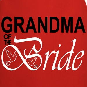 Grandma Of The Bride  Aprons - Cooking Apron