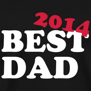 Best Dad 2014 T-skjorter - Premium T-skjorte for menn