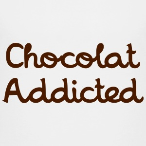 Chocolat Addicted Tee shirts - T-shirt Premium Ado