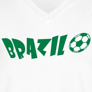 brazil 1c T-Shirts - Men's V-Neck T-Shirt