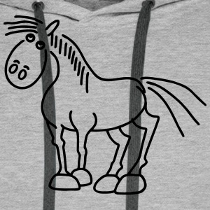 Horse - Stallion Hoodies & Sweatshirts - Men's Premium Hoodie