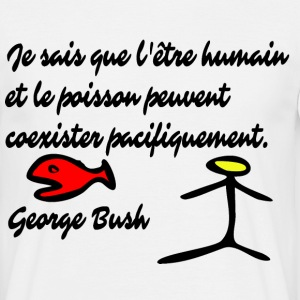 George Bush - T-shirt Homme