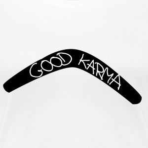 Good Karma (Bumerang) T-Shirts - Frauen Premium T-Shirt