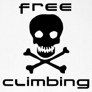 Motif ~ Casquette blanche free climbing