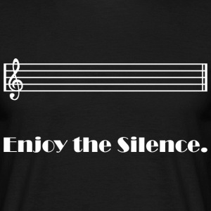 Enjoy the Silence (dark) T-Shirts - Männer T-Shirt