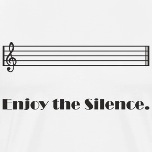 Enjoy the Silence T-Shirts - Männer Premium T-Shirt