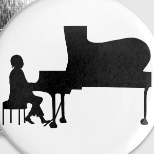 pianist Buttons - Buttons groot 56 mm