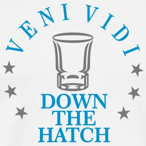veni vidi ... down the hatch (2c) T-Shirts - Männer Premium T-Shirt