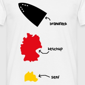 flecken made in germany T-Shirts - Männer T-Shirt