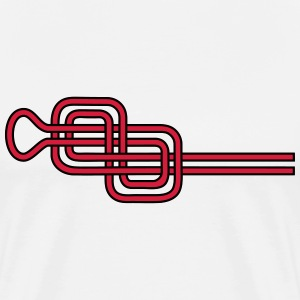 Double Figure Eight Knots, Rock Climbing, Sailing  - Men's Premium T-Shirt