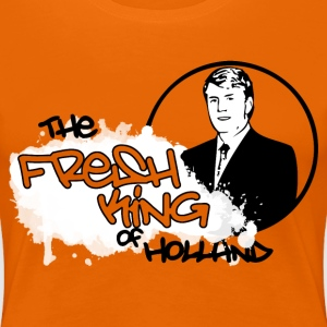 The Fresh King of Holland T-shirts - Vrouwen Premium T-shirt