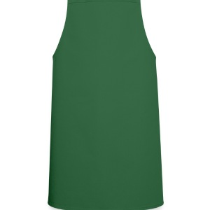 Leaf green shamrock, heart, ireland Bags  - Cooking Apron