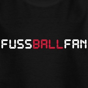 Fussballfan + Weltmeister 14 (Basic, black, teen) - Teenager T-Shirt