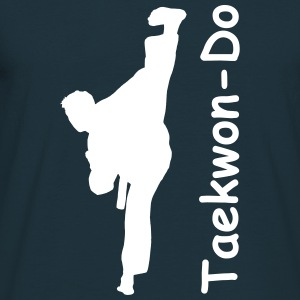 Taekwondo Kick Adult T-Shirt - Men's T-Shirt