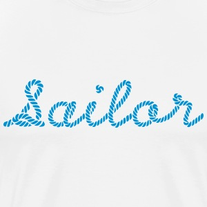 Sailor, Sailing, Skipper, Rope, Sea T-Shirts - Männer Premium T-Shirt