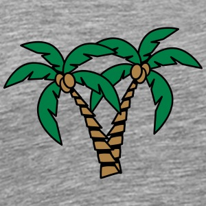 Palm tree coconut group T-Shirts - Men's Premium T-Shirt