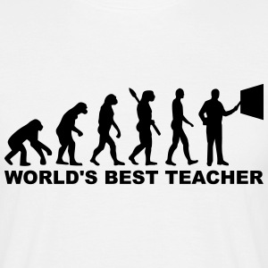 World's best teacher T-Shirts - Männer T-Shirt