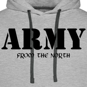 Army from the north Pullover & Hoodies - Männer Premium Hoodie