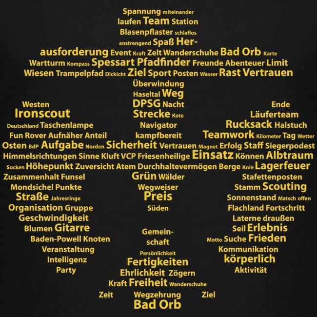 Männer T-Shirt Spruchlilie