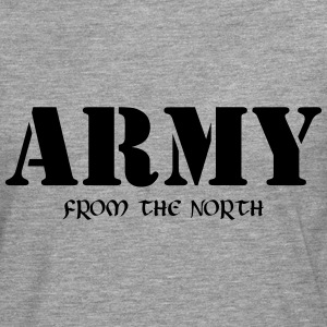 Army from the north Langarmshirts - Männer Premium Langarmshirt