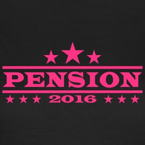 Pension Rente Ruhestand 2016 T-Shirts - Frauen T-Shirt