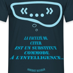 Citation : citer pourquoi ? - T-shirt Homme