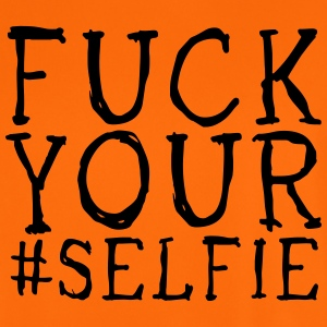 fuck your selfie T-Shirts - Men's Football Jersey