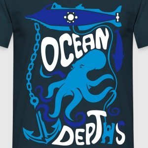 Tee shirt Ocean Depths - T-shirt Homme